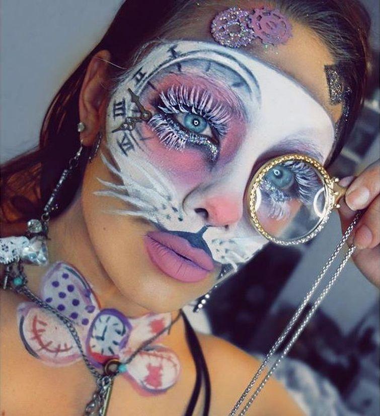 Крутой макияж от талантливых девушек