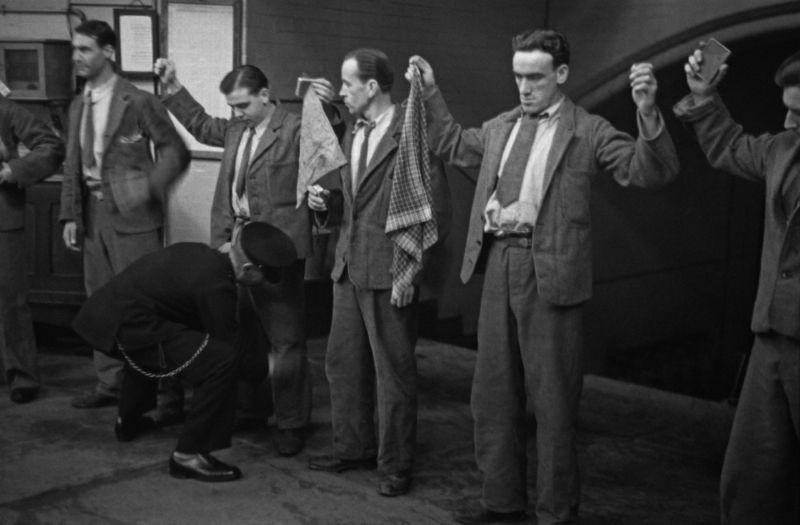 Быт заключенных тюрьмы строгого режима в середине прошлого века