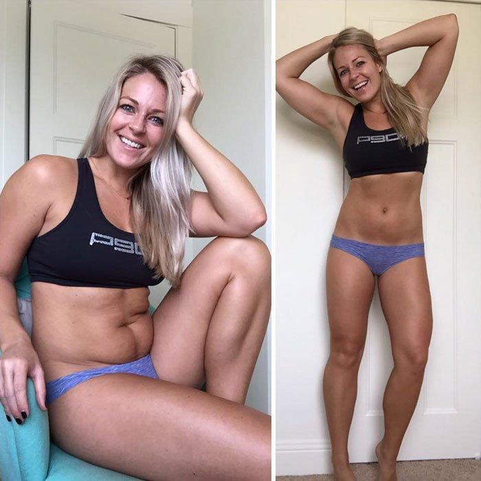 Фитнес-моделеи доказывают, что правильная поза — это главное