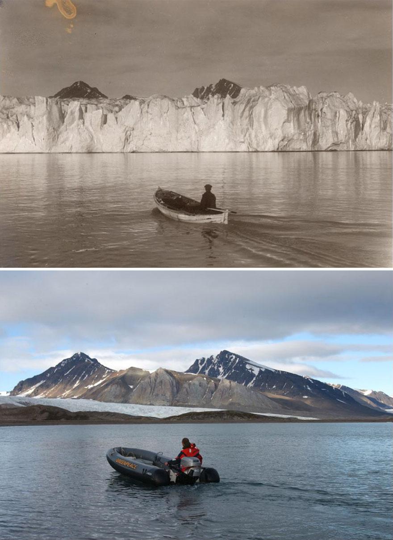 Как менялась Арктика за последние 100 лет. ФОТО