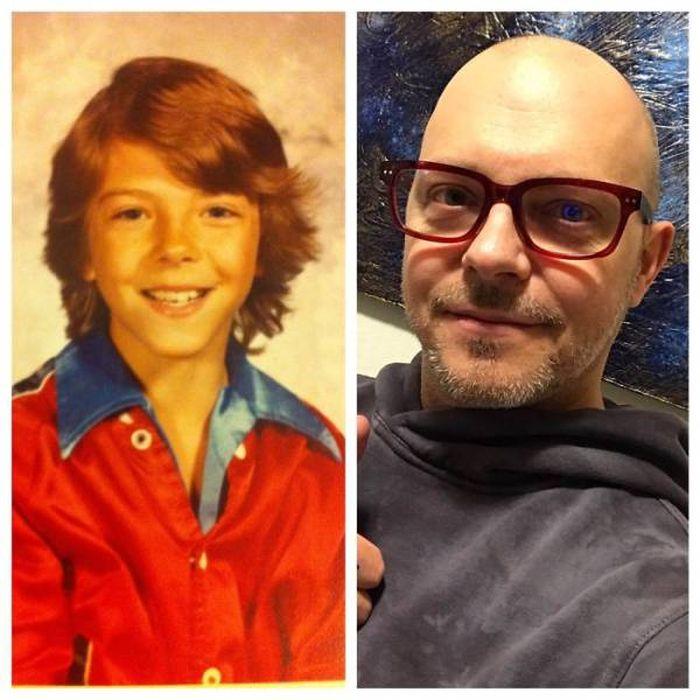 Как мы взрослели: взрослые делятся своими детскими фото