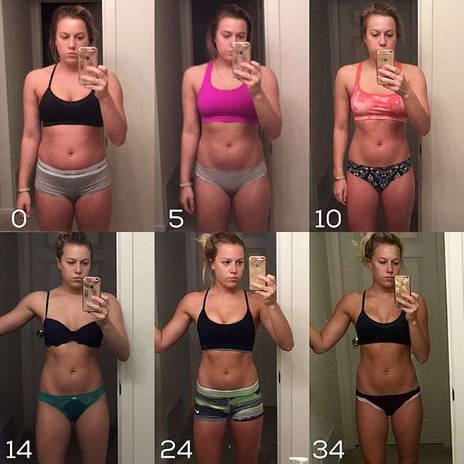 Преображение людей, сбросивших лишний вес