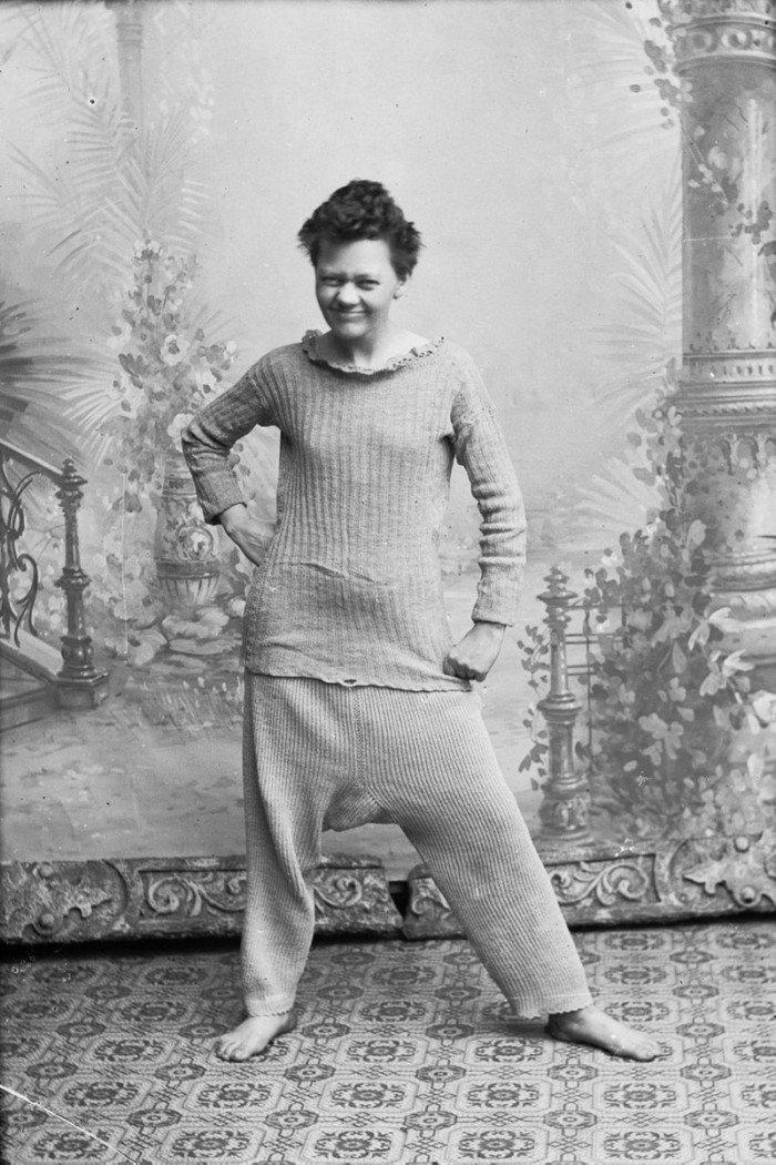 Как норвежки экспериментировали в фотостудии в 1900-е годы