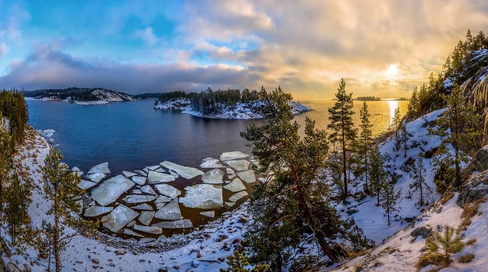 Красивые пейзажи от Фёдора Лашкова