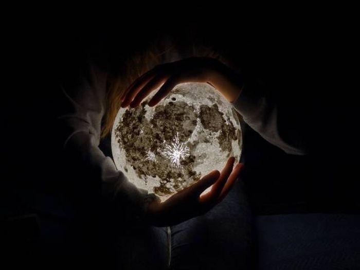 Ночные лампы в виде планет