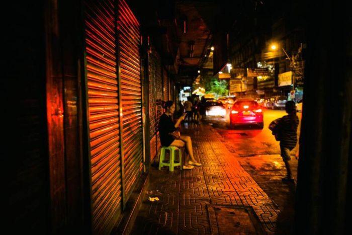 улица проституток в бангкок