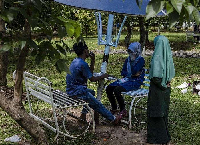 Полиция нравов в индонезийской провинции Ачех