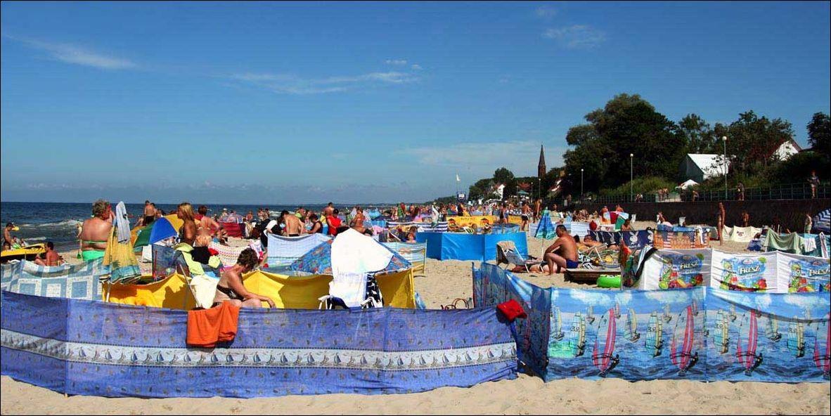 Польский пляж интровертов