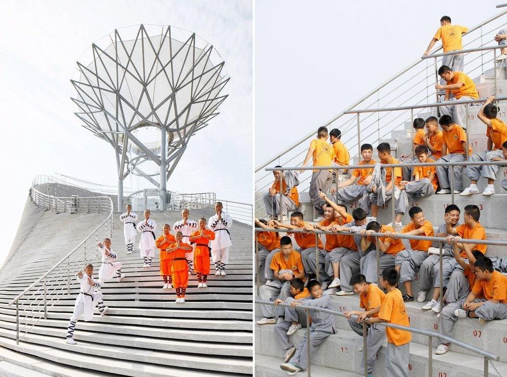 Храм летающих монахов