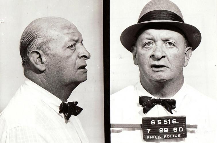 Колоритные магшоты американских преступников 40–60-х годов прошлого столетия