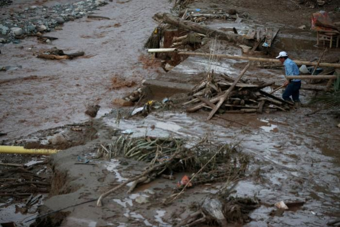 Масштабное наводнение в Колумбии