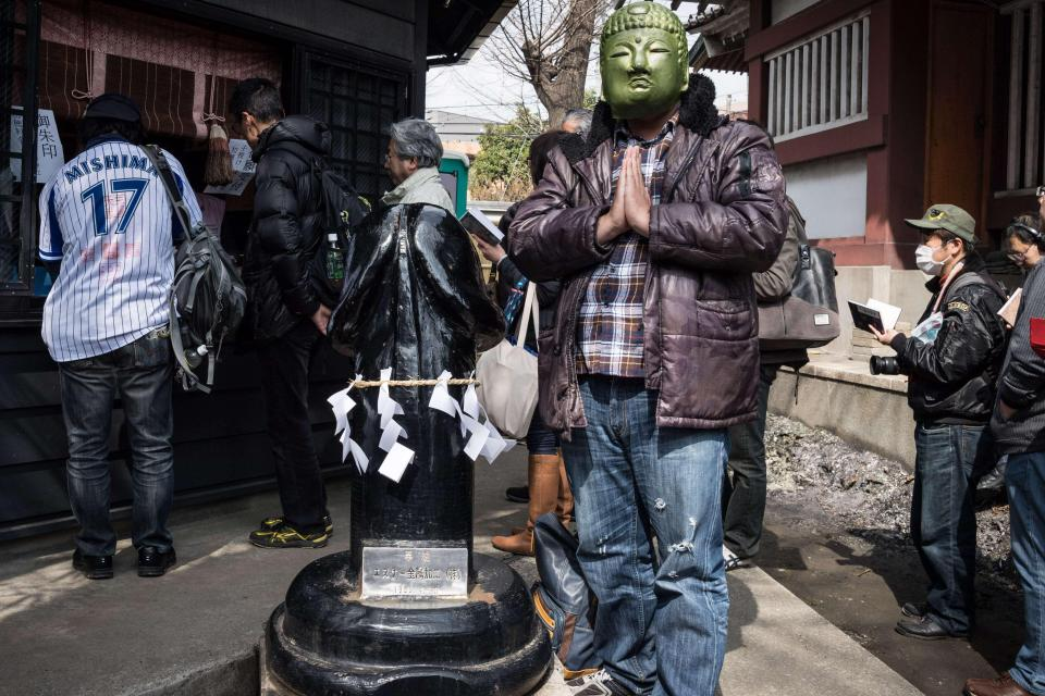 Ежегодный фестиваль пениса в Японии