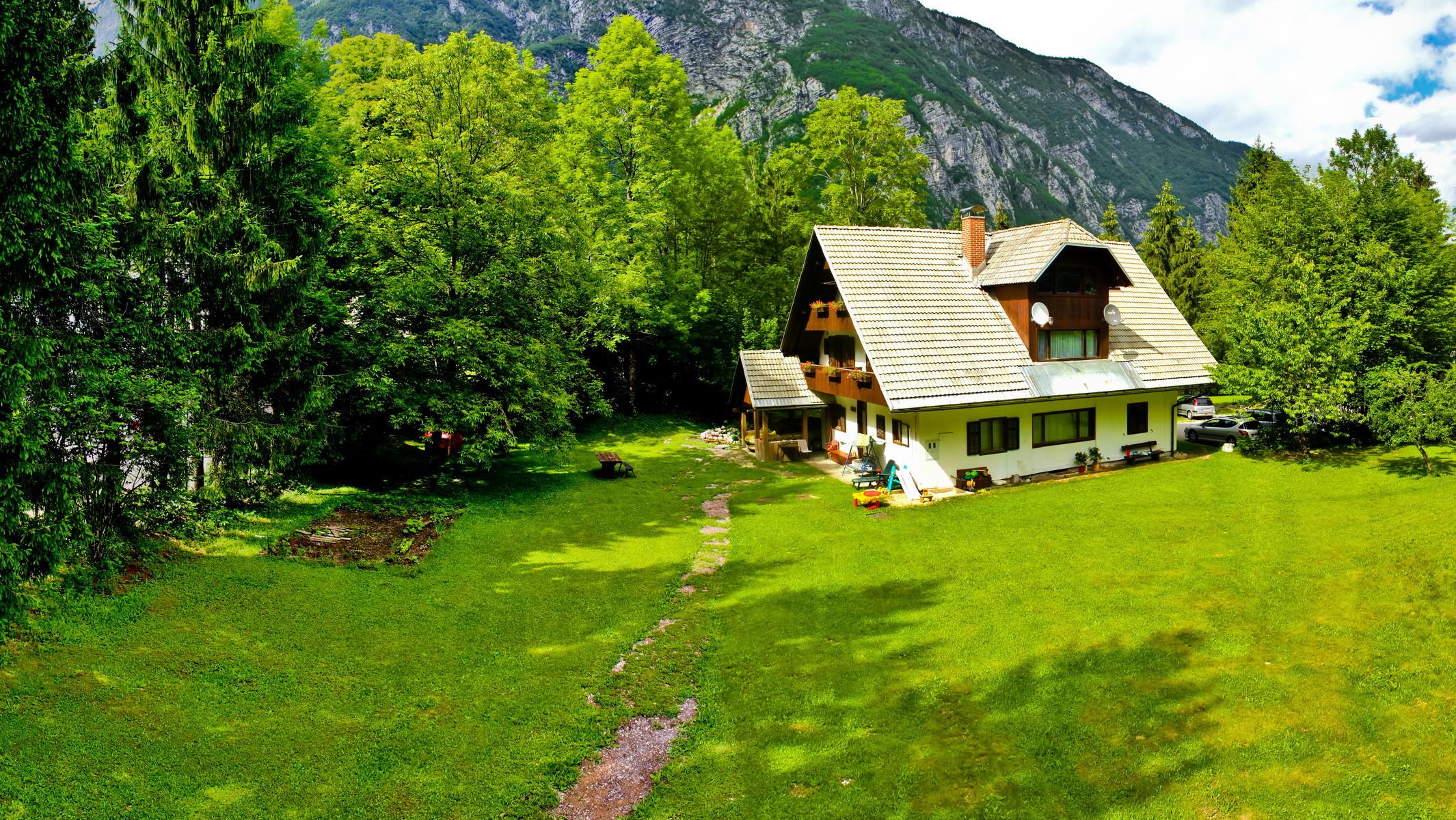 Уютные домики, в которых хочется поселиться