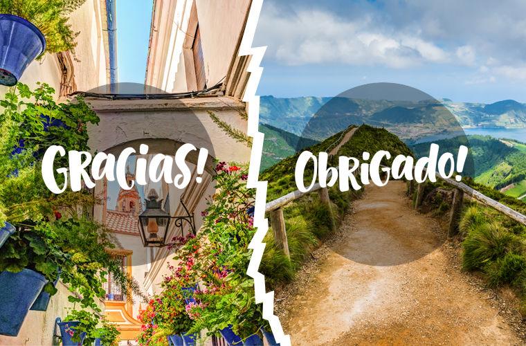 Различия Испании с Португалией