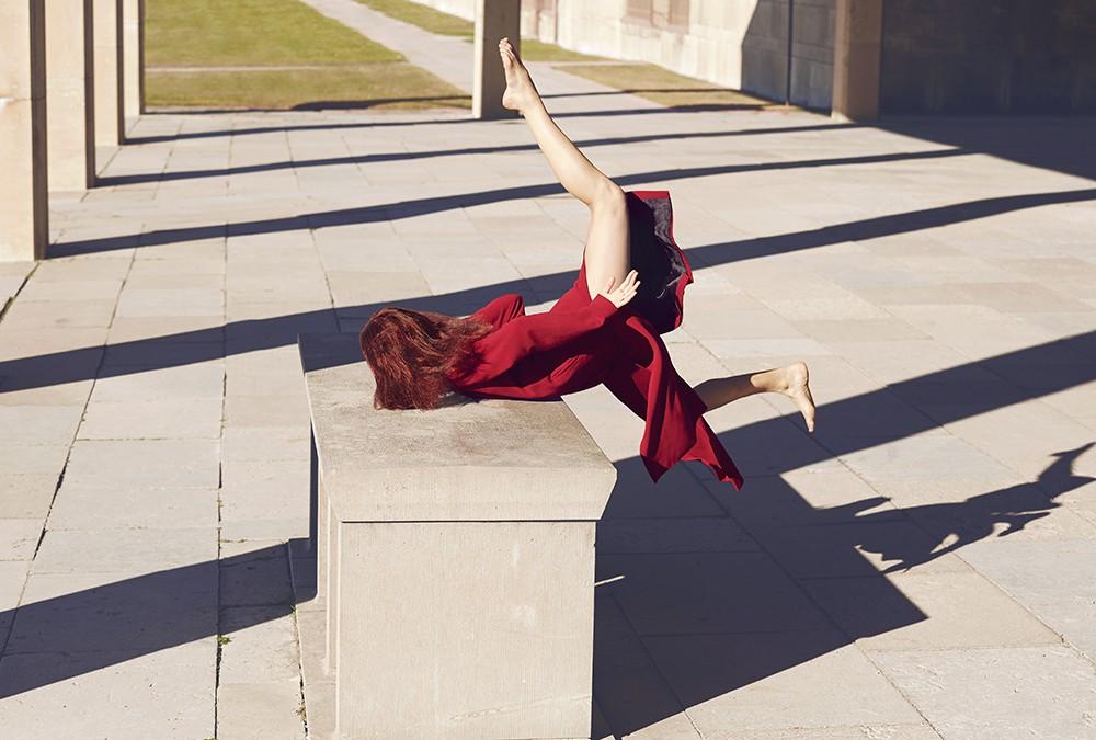 Элегантные и драматические падения моделей
