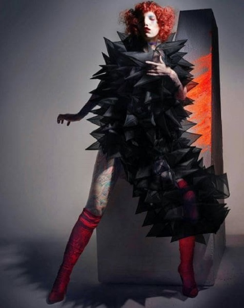 Модель с редким генетическим заболеванием штурмует fashion-индустрию