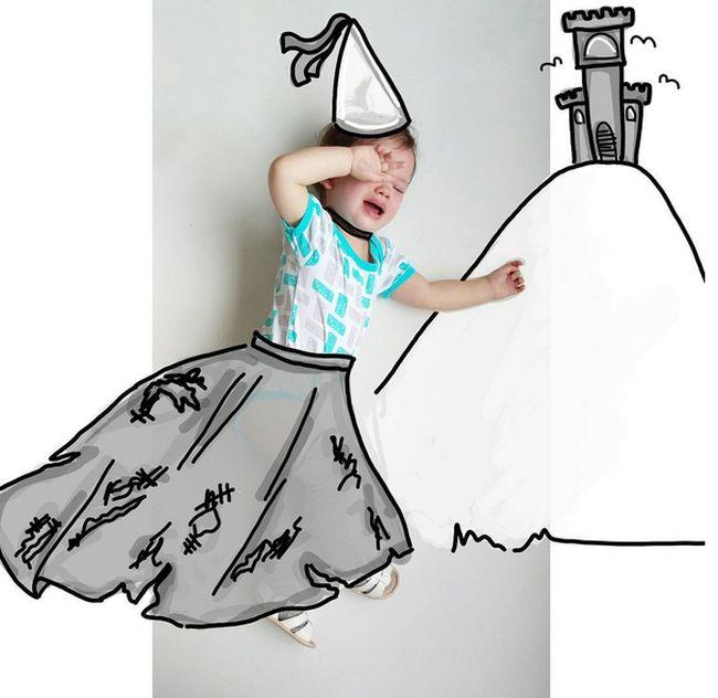 Иллюстратор придумывает креативные фотоистории для своей дочери