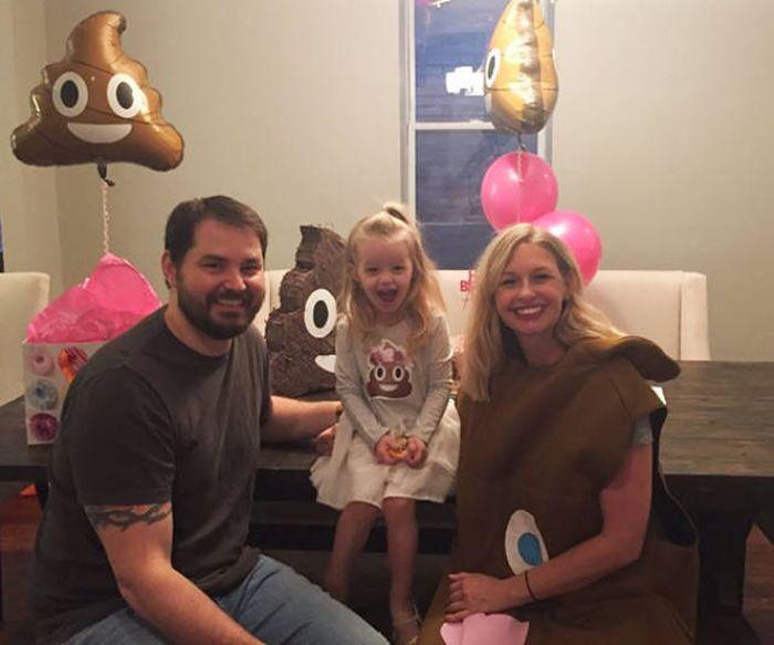Необычная тематика Дня рождения трехлетней девочки