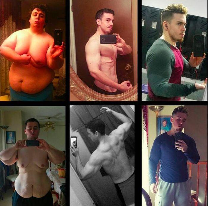 Парень похудел на 114 кг и стал качком