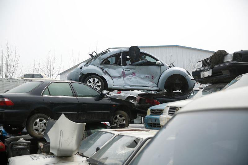 Китайское кладбище автомобилей
