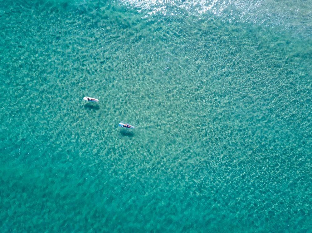 Вид сверху на пляж Бонди