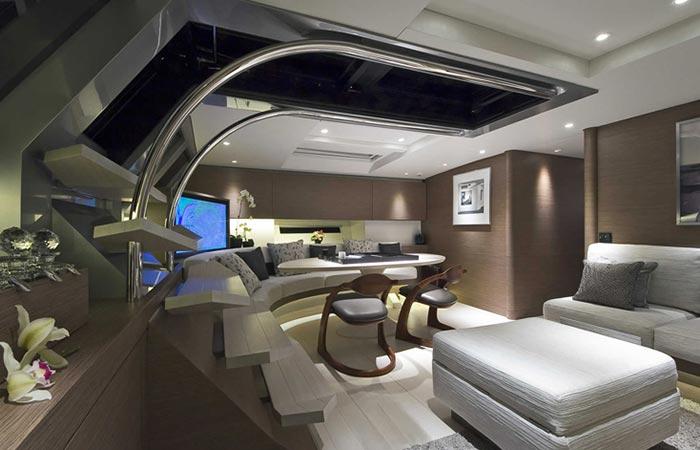 Дизайн роскошной яхты за 12 млн. евро