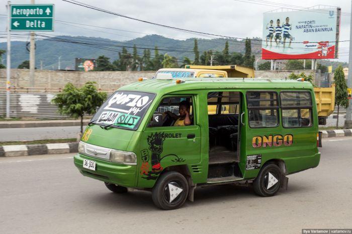 Небезопасный автотюнинг острова Тимор