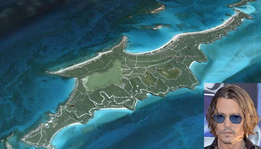 Звезды, у которых есть собственный остров