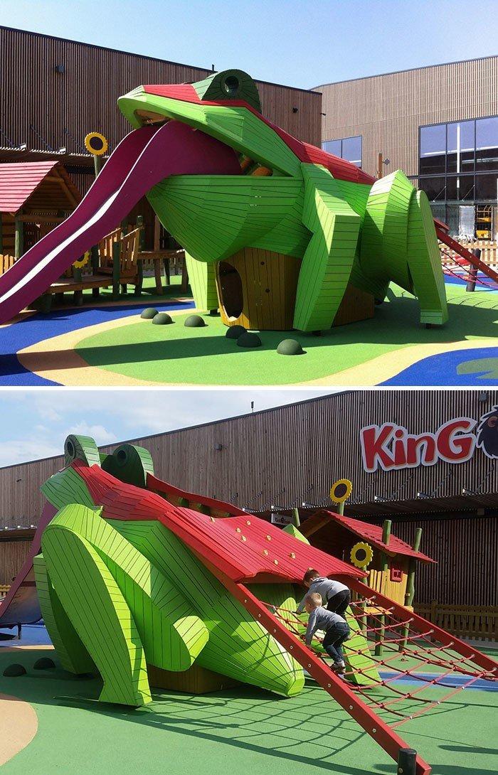 Креативные детские игровые площадки