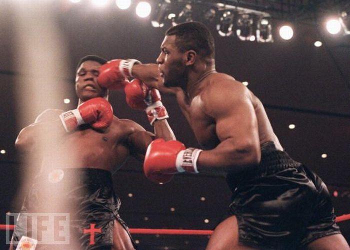 Моменты ударов в боксе
