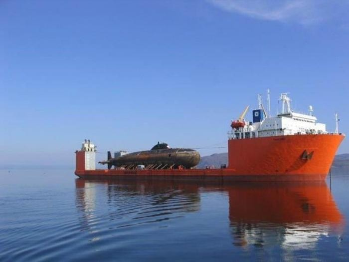 Перевозка огромных грузов на кораблях