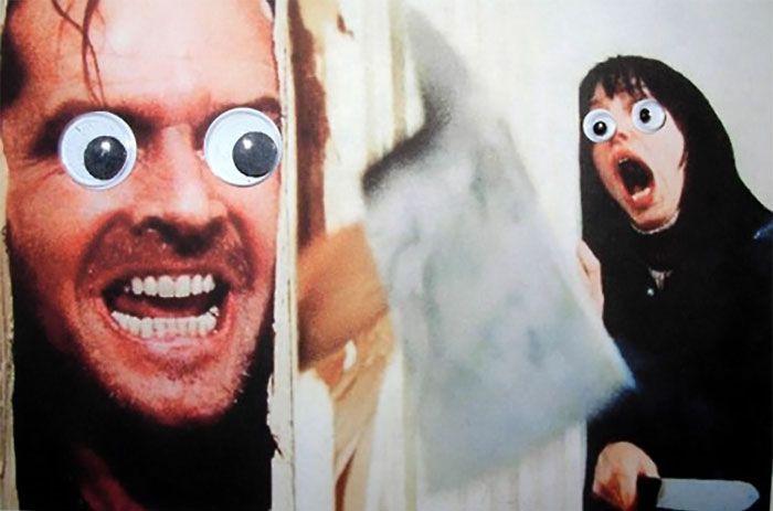 Веселые эксперименты с глазами Googly Eyes