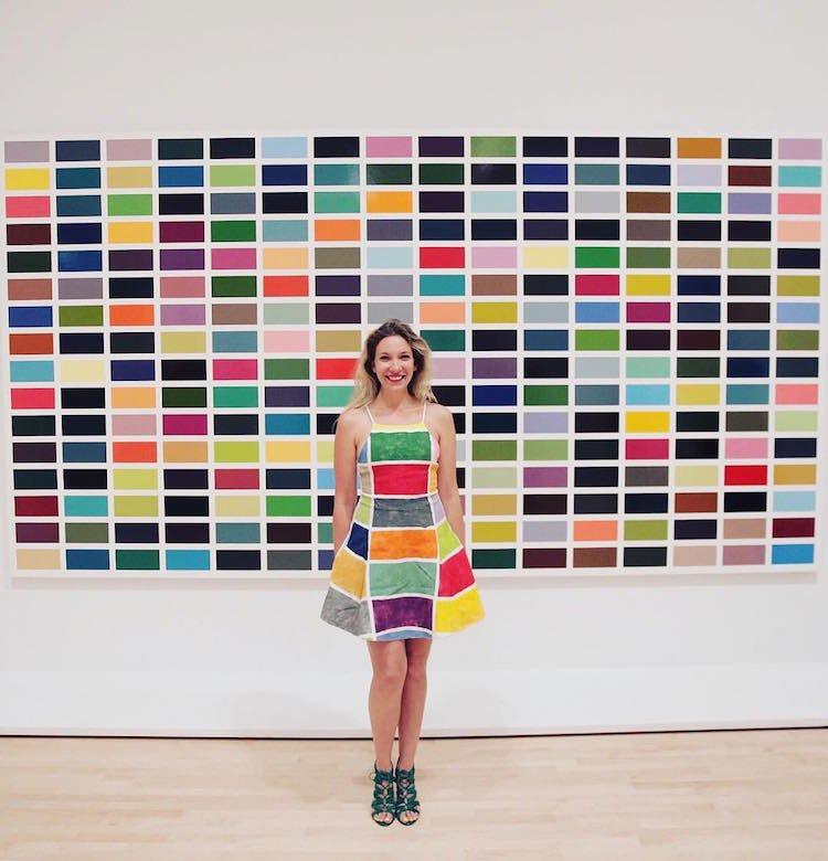 Коллекция одежды, вдохновлённая искусством