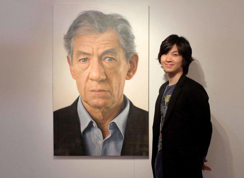 Гигантские гиперреалистичные портреты от Джунгуон Юнга