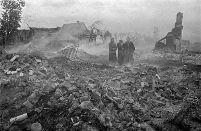 Министерство обороны опубликовало редкие снимки Великой Отечественной войны