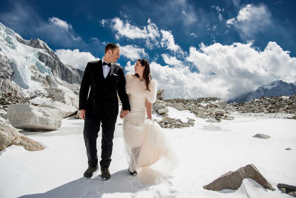 Бракосочетание на Эвересте