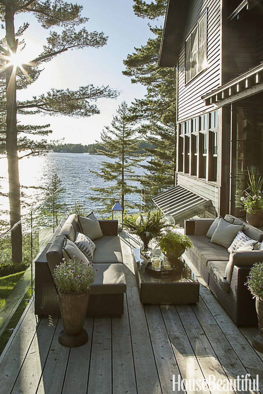 Домик у озера Онтарио в Канаде