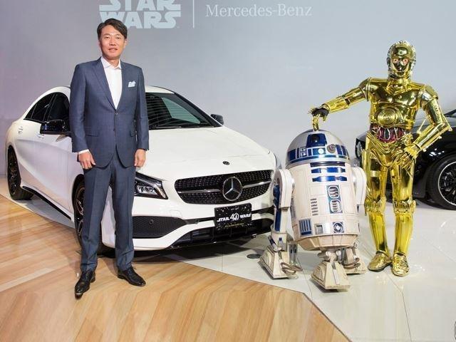 Mercedes-Benz CLA 180 для поклонников Звёздных войн
