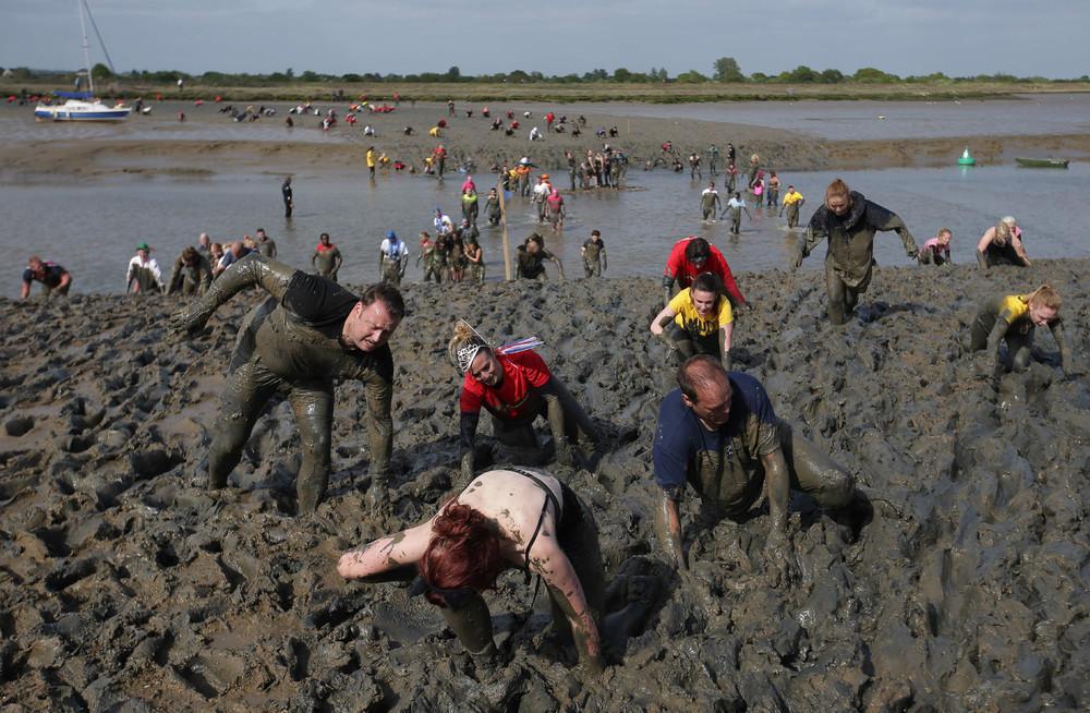 Ежегодный забег в грязи Малдон 2017