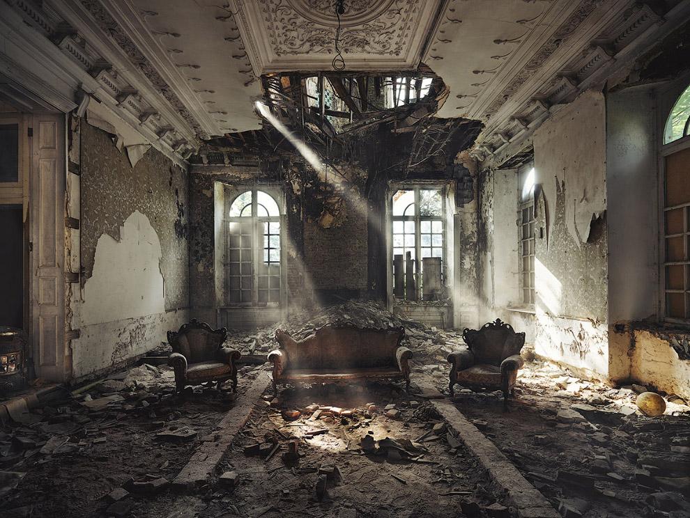 Красота заброшенных зданий
