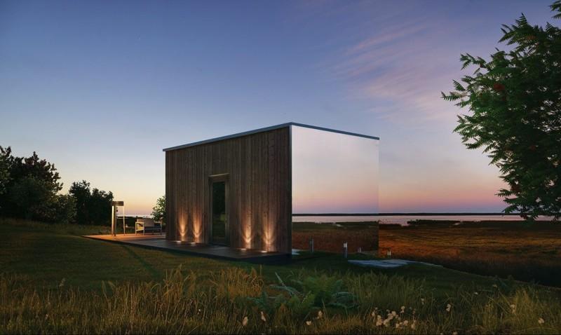 Стеклянный дом из Эстонии, который можно установить за 8 часов