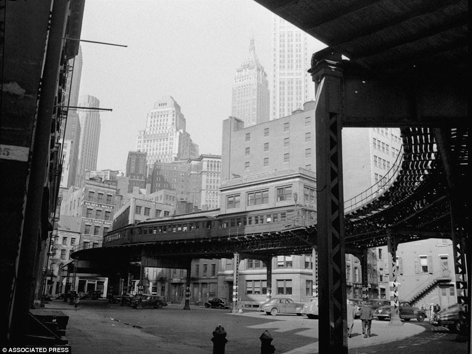 Манхэттен в 1940-х годах
