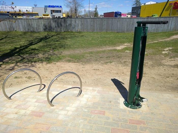 Велосипедная станция техобслуживания