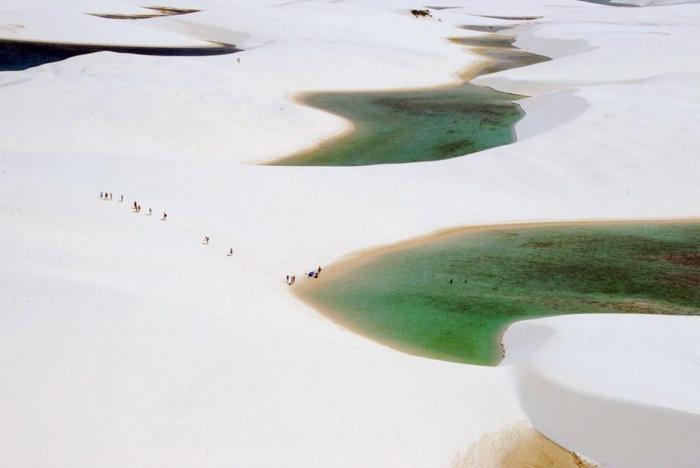 Белые пески Lencois Maranhenses