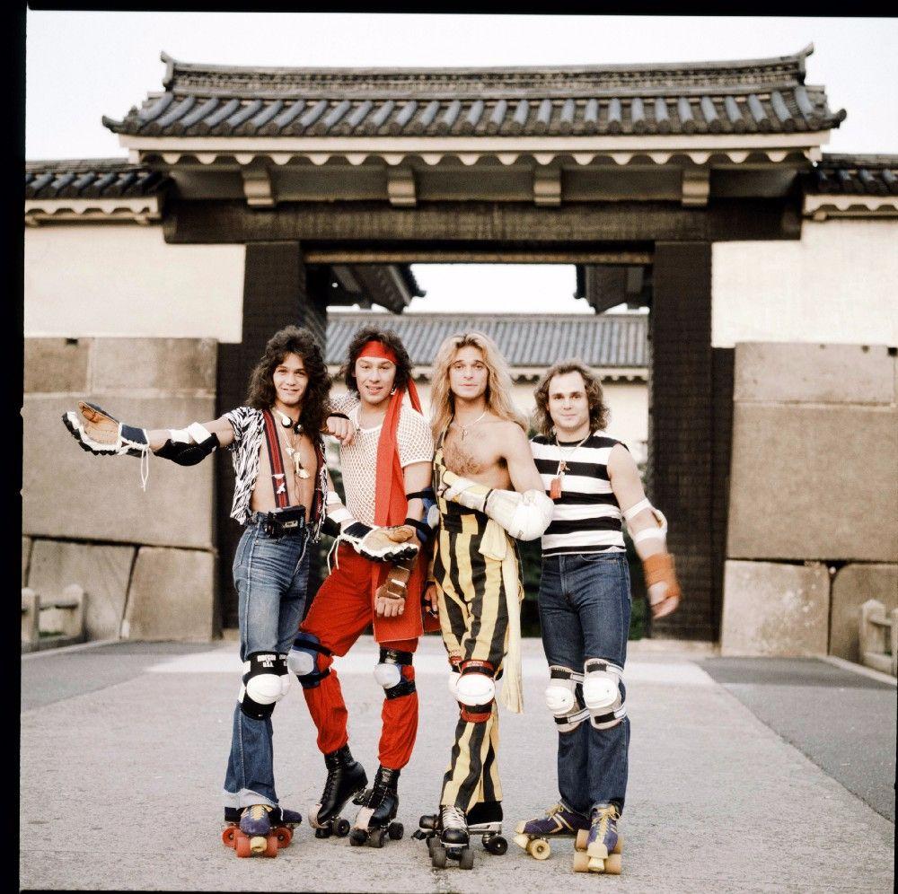 Фотографии рок-звёзд, выступавших в Японии в 1970-80-х годах