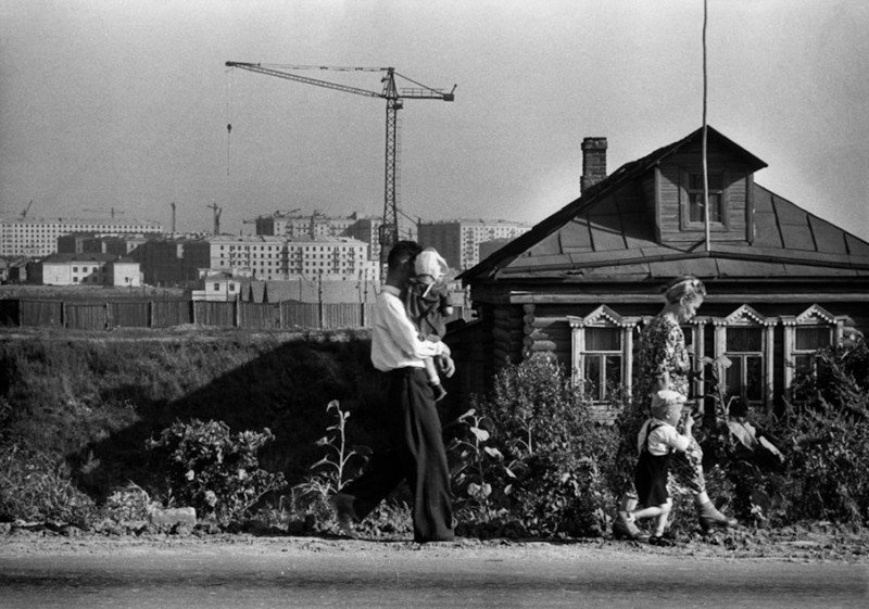 Анри Картье-Брессон и Москва в 1954 году