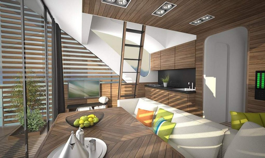 Проект плавучего отеля в Сербии