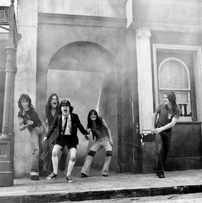 Редкие фото знаменитых рок-музыкантов
