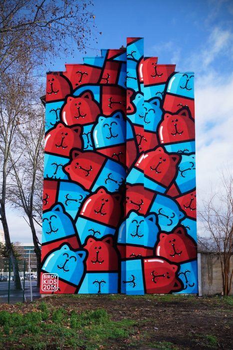 Великолепные примеры стрит-арта