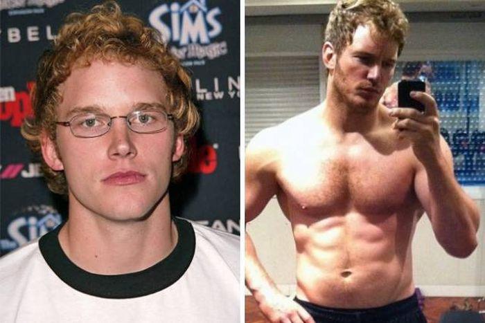 знаменитости которые похудели до и после